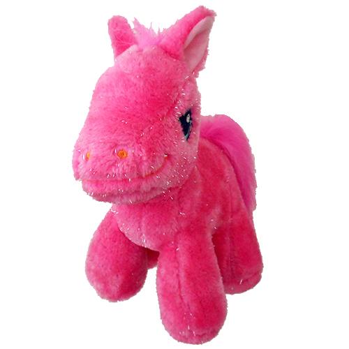 16cm Plush Pink Pony with Sound