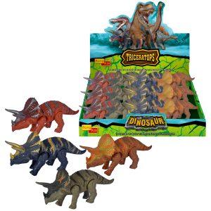 14.5cm Wind-Up Parasaurolophus Dinosaur (D/Box of 12)