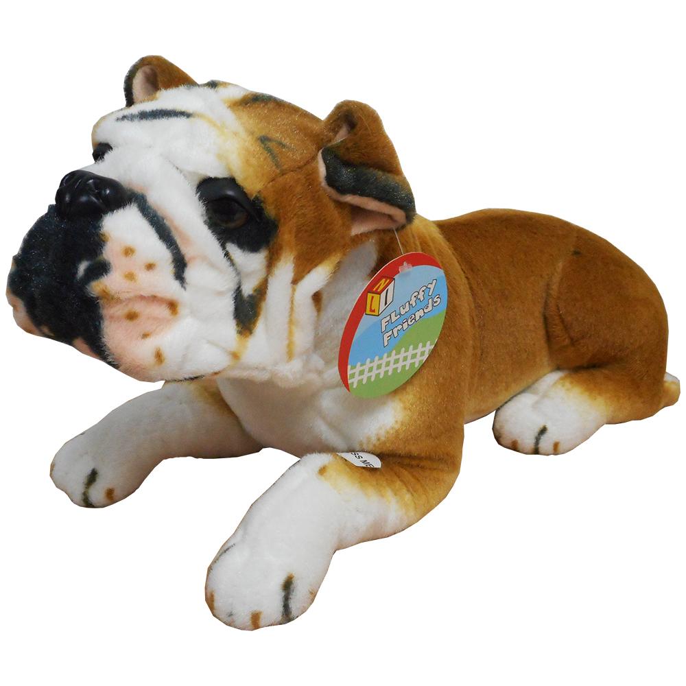 57cm Plush Bulldog