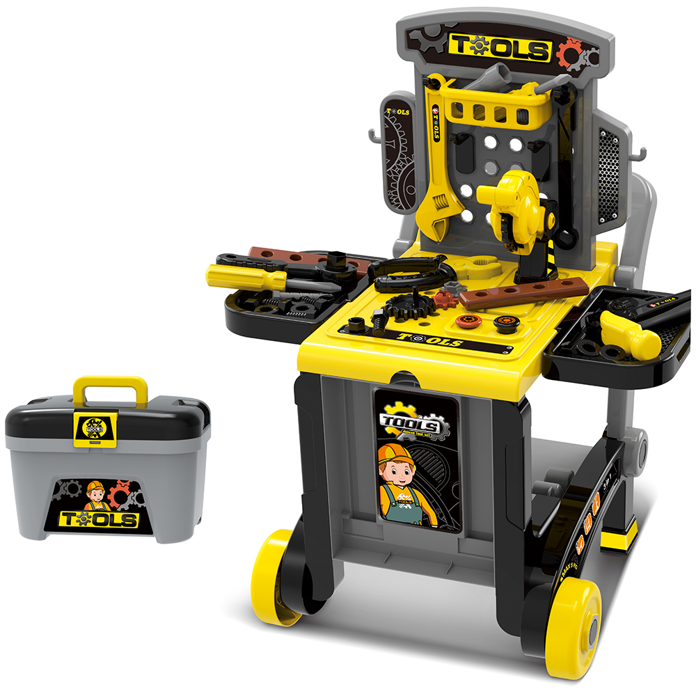 3 in 1 Kids Toolbench Roleplay Set