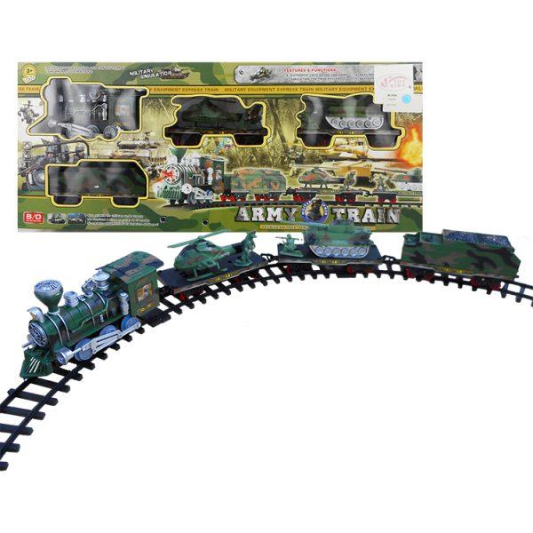 Military Supply Train Set