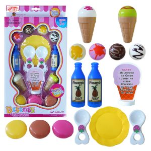 Ice-cream dessert set (17 pcs)