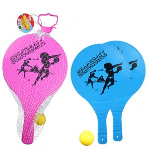 SPORTS - All Plastic Paddle Bat Set
