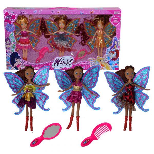Three Fairies Set