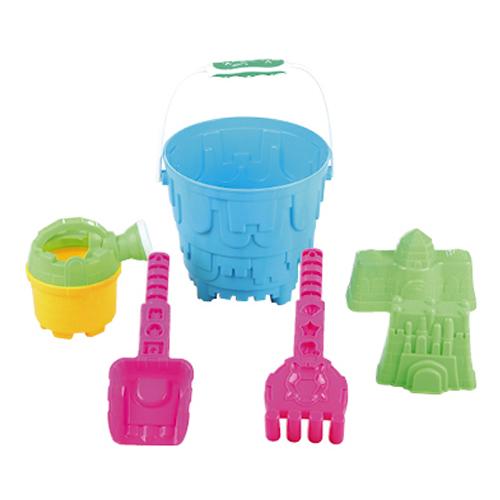 BUCKET SET - Beach Bucket 6 Piece Set
