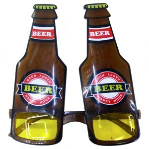 Beer Brown Bottle Glasses
