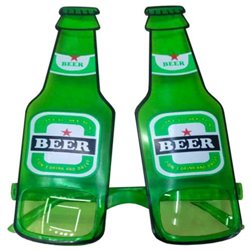 Beer Green Bottle Glasses