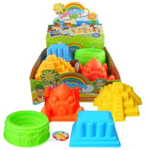 """Beach Castle Moulds (Mixed Sizes: 6-7 1/2"""" x 5-7"""" x 3 5"""")"""