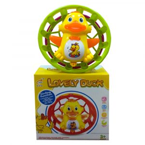 LIGHT AND SOUND ROLL DUCK WHEEL