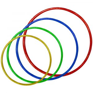 SPORTS - Hula Hoops 4 Sizes (60 of Each Size)