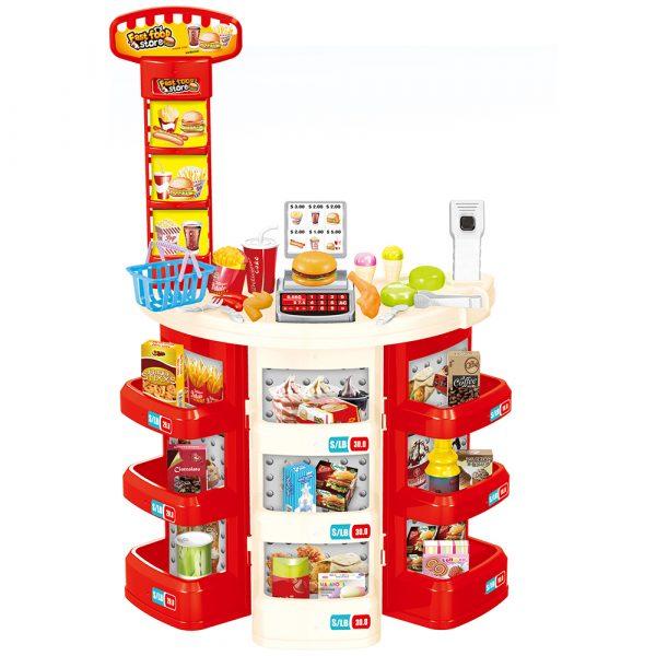 Fast Food Supermarket Set