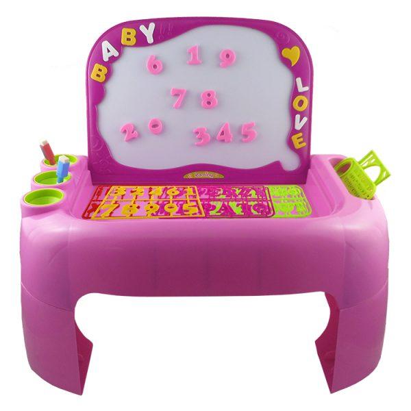 Children's Learning Desk Pink