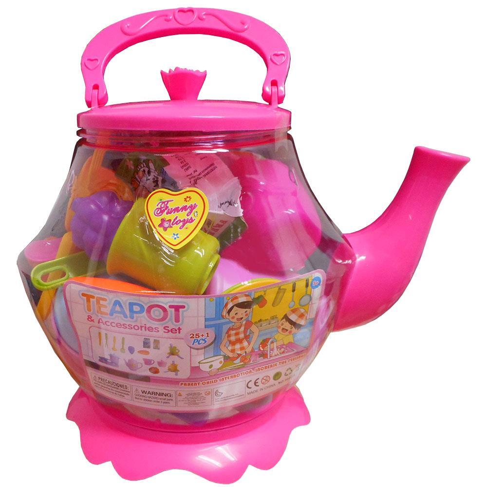 Large Tea Pot Playset