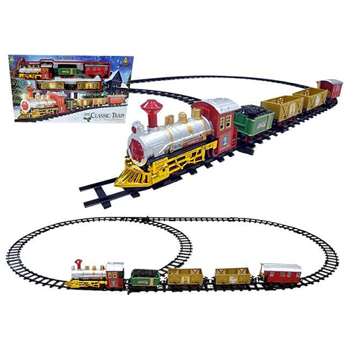 Classic Christmas Train Set