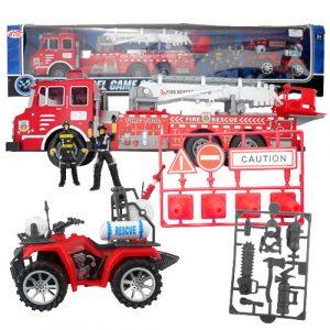 Fireman Rescue Truck Set