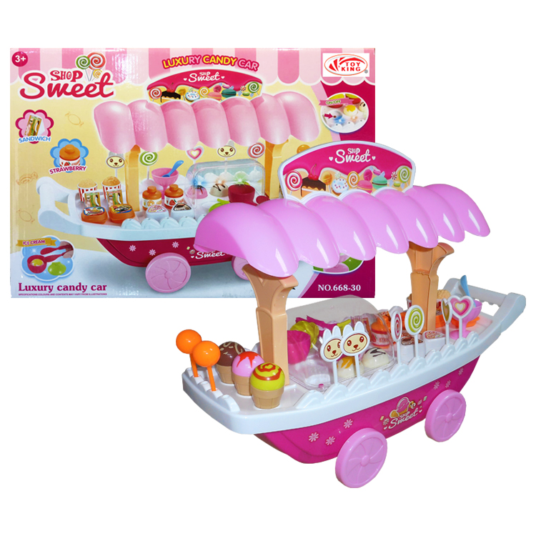 Luxury candy cart - Lights & sounds