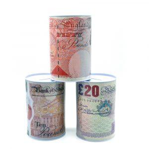 Sterling Money Tin Medium
